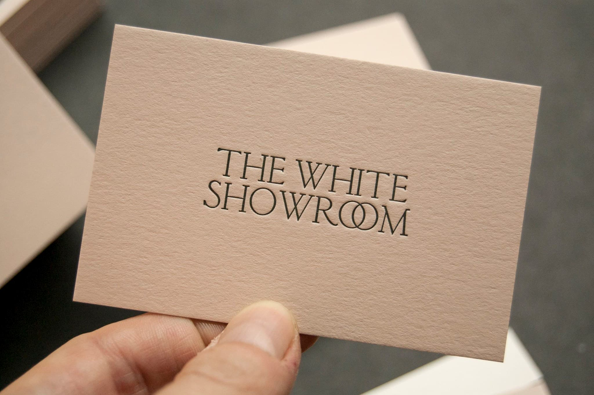 The White Showroom logo