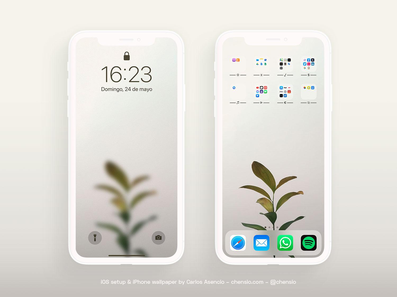 Iphone Wallpapers Ios Setups Diseno Grafico Aplicado A Ux Moviles Y Pantallas