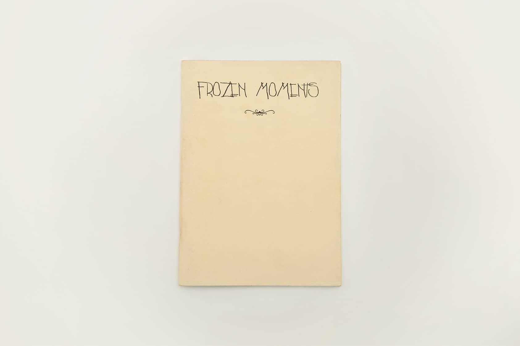 Frozen Moments, una revista recopilación de dibujos e ilustraciones. Arte y momentos congelados.